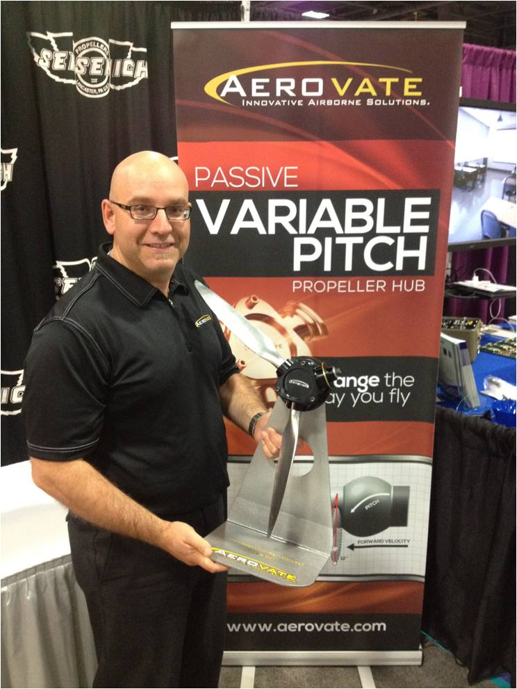 Aerovate at Tradeshow